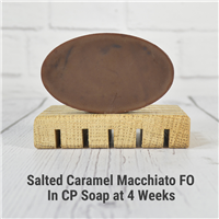 Salted Caramel Macchiato FO in CP Soap