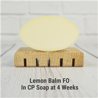 Lemon Balm Fragrance Oil in CP Soap