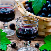 Sparkling Blackcurrant Wine FO (Special Order)