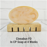 Cinnabun FO in CP Soap