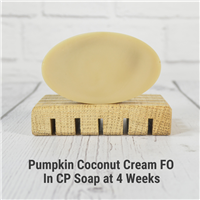 Pumpkin Coconut Cream FO in CP Soap