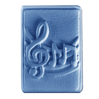 Musical Notes Soap Mold (MW 459)
