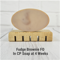 Fudge Brownie FO in CP Soap