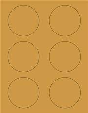 """Kraft Labels - 3.0"""" Circle (C 4)"""