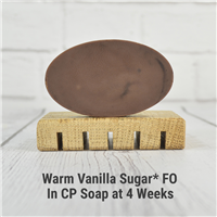 Warm Vanilla Sugar* FO in CP Soap