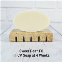 Sweet Pea* FO in CP Soap