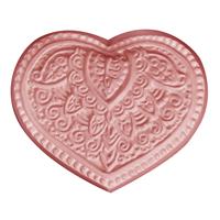 Henna Heart Soap Mold (MW 467)