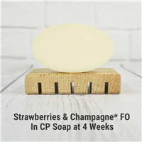 Strawberries & Champagne* FO in CP Soap