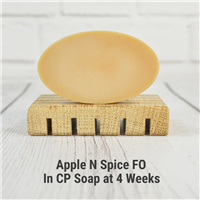 Apple N Spice FO in CP Soap