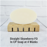 Straight Strawberry FO in CP Soap