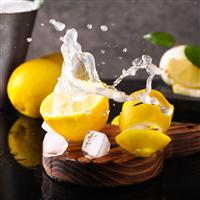 Water Soluble - Lemon Zest Fragrance Oil 1190