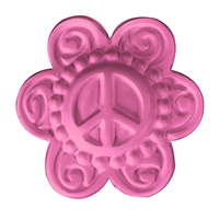 Peace Flower Soap Mold (MW 542)