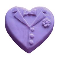 Groom Heart Soap Mold (MW 565)