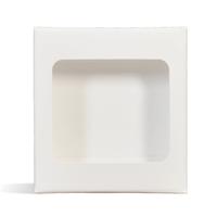 Lip Tube Box (Holds 4 Tubes) - WHITE COLOR