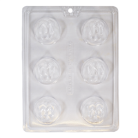 Flip Flop Small Round Mold (LOP 13)