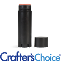 0.15 oz Black Lip Tube & Cap - Oval