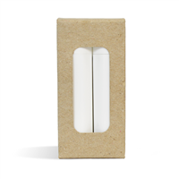 Lip Tube Box (Holds 2 Tubes) - OATMEAL COLOR
