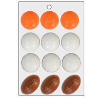 Sports Balls Assorted Mini Mold (LOP 26)