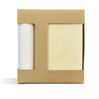 Soap & Tube Combo Box (KRAFT COLOR)