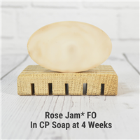Rose Jam* Fragrance Oil in CP Soap
