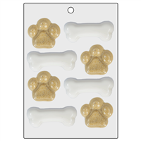 Bones and Paws Mini Mold (LOP 41)