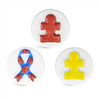 Ribbon Puzzle Small Round Mold (LOP 43)