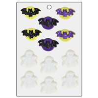 Bats and Ghosts Mini Mold (LOP 46)