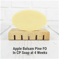 Apple Balsam Pine FO in Cold Process Soap