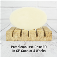 Pamplemousse Rose FO in CP Soap
