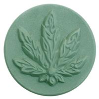 Cannabis Leaf Soap Mold (MW 589)