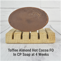 Toffee Almond Hot Cocoa FO in CP Soap