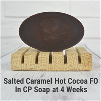 Salted Caramel Hot Cocoa FO in CP Soap