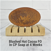 Blushed Cocoa FO in CP Soap