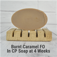 Burnt Caramel FO in CP Soap