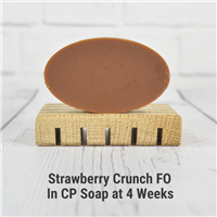 Strawberry Crunch FO in Cold Process Soap