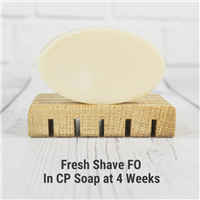 Fresh Shave in Cold Process Soap