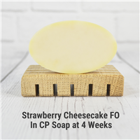 Strawberry Cheesecake in Cold Process Soap