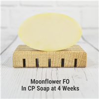 Moonflower FO in Cold Process Soap