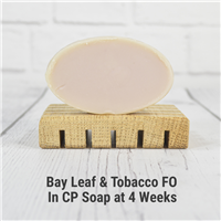 Bay Leaf & Tobacco FO in Cold Process Soap