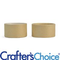 0.5 oz Paperboard Jar & Fitted Cap Set