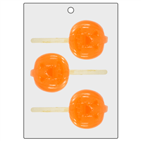 Jack-O-Lantern Bubble Stick Mold (LOP 52)