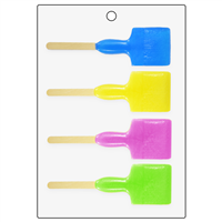 Paint Brush Bubble Stick Mold (LOP 59)