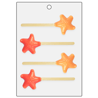 Starfish Bubble Stick Mold (LOP 62)