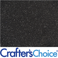 Eco Friendly - Black Glitter