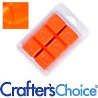 Neon Nuclear Orange Soap Color Block