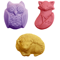 Woodland Animals Soap Mold Collection