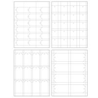 White Hang Tag Sample Set