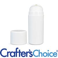 03.5 oz White Airless Bottle w/ White Pump Set