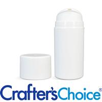 05 oz White Airless Bottle w/ White Pump Set