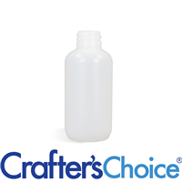 02 oz Natural HDPE Boston Round Bottle - 20/410